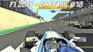 F1 2015: GRANDE PREMIO BRASIL #18 - F1 GP INTERLAGOS SP 2015 - PS4™