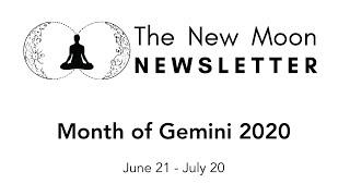 New Moon Newsletter - Gemini 2020