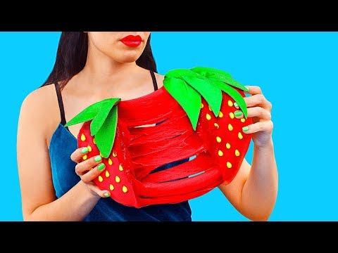 Игрушки антистресс из лизунов и сквиши – 7 идей - Простые вкусные домашние видео рецепты блюд