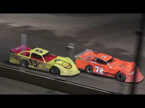 Late Model Feature at Crystal Motor Speedway, Michigan on 08-24-2019!