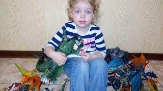 #Динозаври, Годзілла, Т-Рекс, Кінг Конг, Кракен та ін. монстри. Колекція динозаврів. Огляд іграшок.