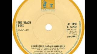 Watch Beach Boys California Saga on My Way To Sunny California video