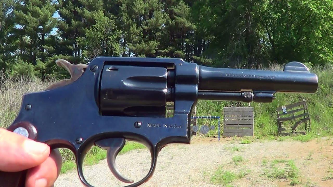 S&W Pre-War M&P 38 Special Revolver - YouTube