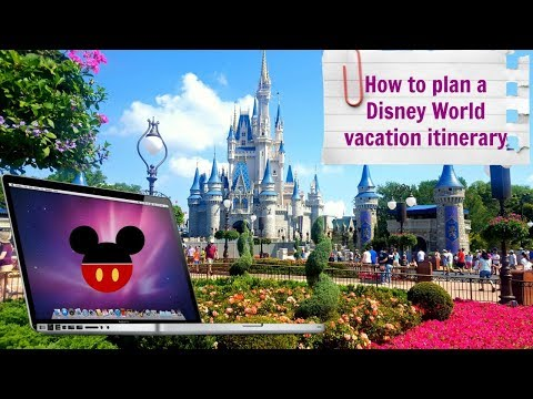 How to plan a Walt Disney World trip itinerary