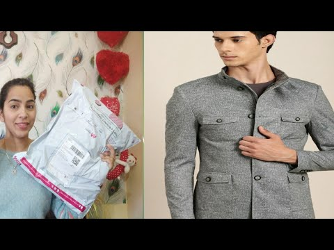 Unboxing Myntra Blazer Review | Myntra Mens Haul|online Shopping Review