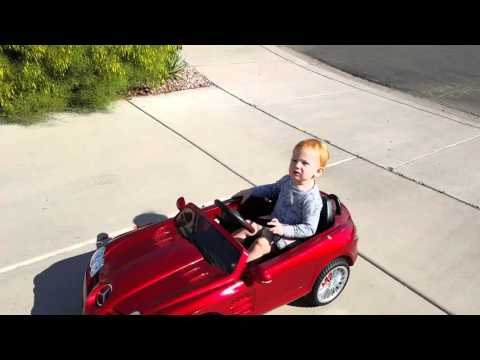 Kids Mercedes Benz ride On Toy - 12V with MP3, Remote Control, LED Lights, AUX and Music