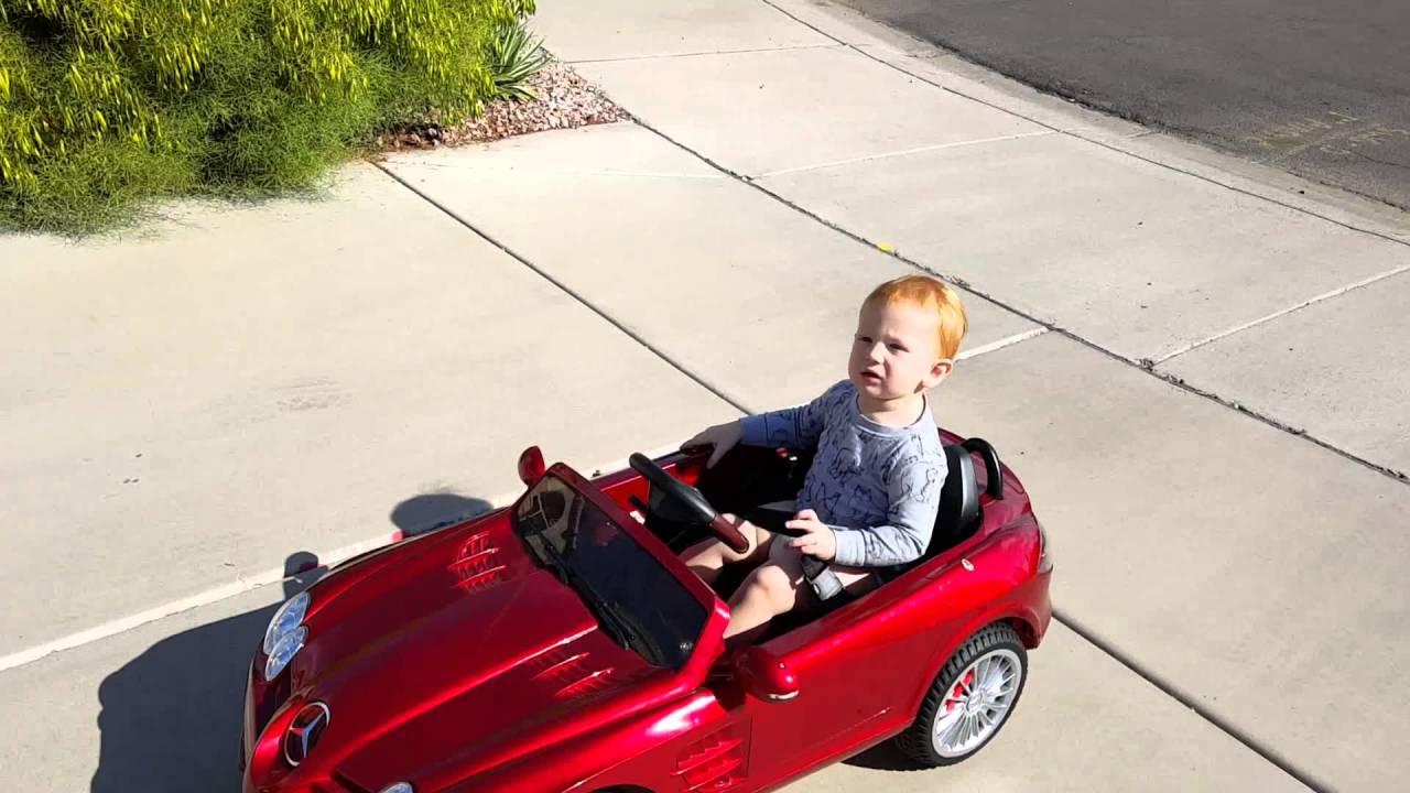 Kids Mercedes Benz Ride On Toy