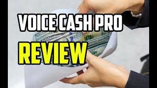 Voice Cash Pro Review   is It LEGIT Or SCAM?