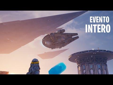 EVENTO INTERO Star Wars Fortnite (HD)