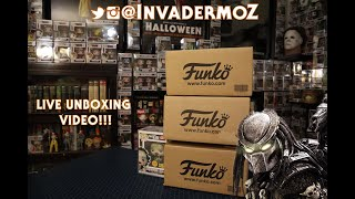 Live Funko PoP unboxing!!!