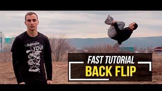 Back Flip | Заднее сальто (Быстрое обучение | Fast tutorial)