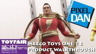 Mezco Toys One:12 Collective Product Walkthrough at Toy Fair 2016