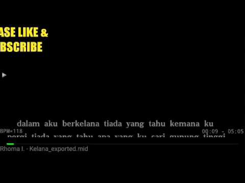 Karaoke Berkelana Rhoma Irama No Vocal HQ audio