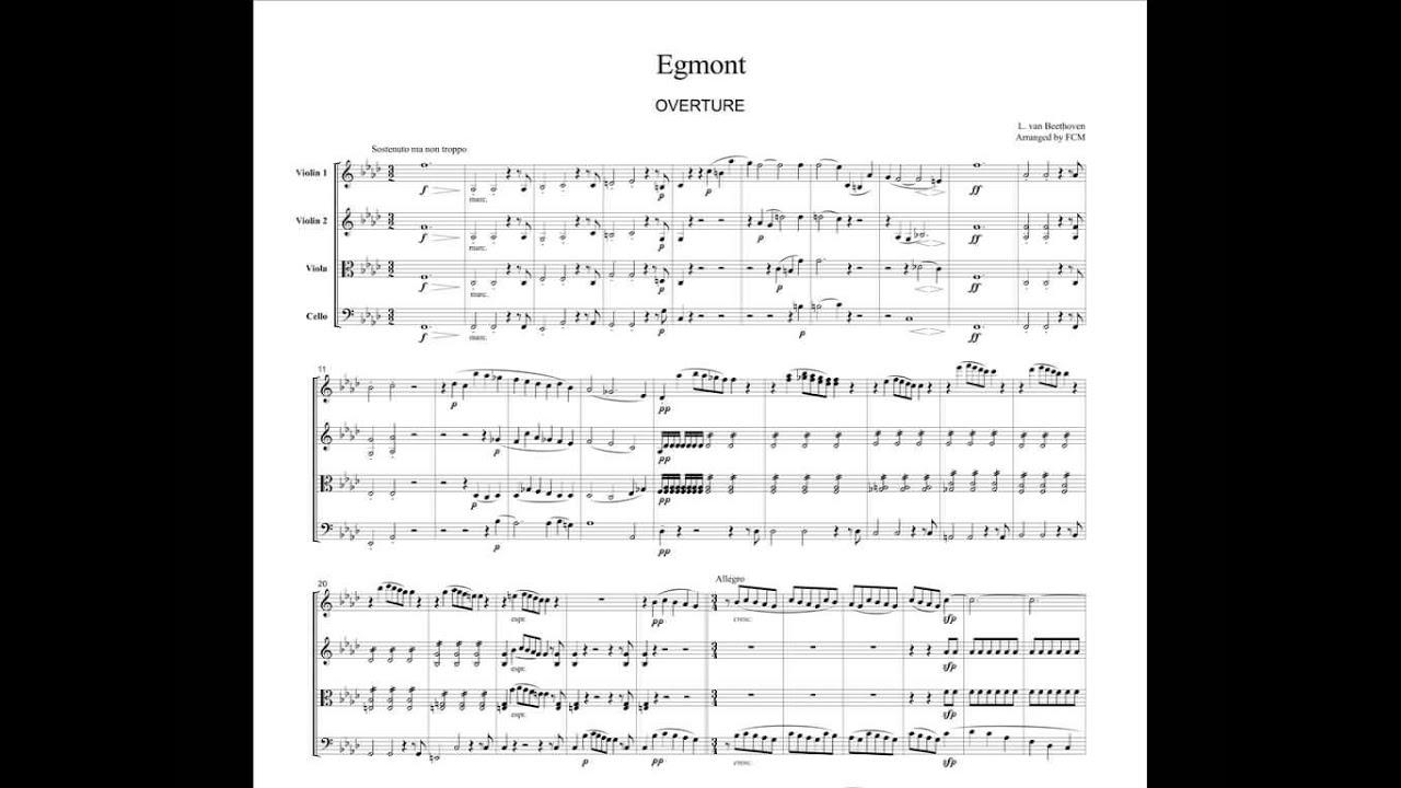 Egmont Ouvertüre