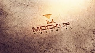 Mockup tutorial - how to use photoshop mockups for logo presentations