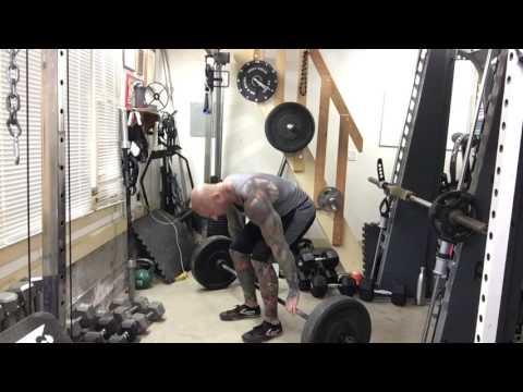 Barbell Hack Squat For Bigger Quadriceps