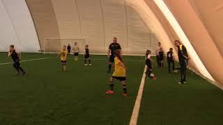 CZ5-Fc Yellow Junior z Kudełkiem w Legnicy pod balonem - Juventus Legnica - V meczyk -Decathlon Cup