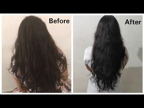Salon Style Hair Spa At Home in Telugu//DIY Hair Spa