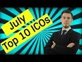 10 POSSIBLE BEST 100X ICOS For JULY 2018 | Millionaire