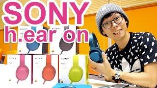 カジュアルにハイレゾ!SONY h.ear on MDR-100Aヘッドホン thumbnail
