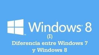 INFORMÁTICA PARA TODOS: WINDOWS 8-1: DIFERENCIAS ENTRE WINDOWS 7 Y WINDOWS 8  (Reeditado)
