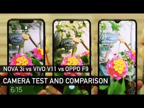 Huawei Nova 3i vs Vivo V11 vs Oppo F9 Camera Test | Zeibiz