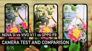 Huawei Nova 3i vs Vivo V11 vs Oppo F9 Camera Test   Zeibiz