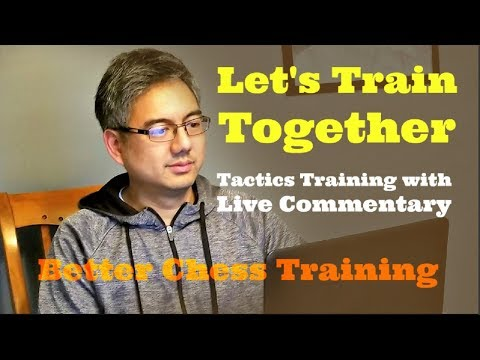 Let's Train Together #7 | Chess Tempo Blitz Tactics | Live Commentary