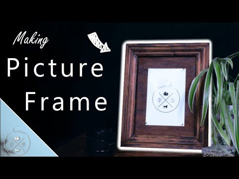 Making a Picture Frame (Rustic)
