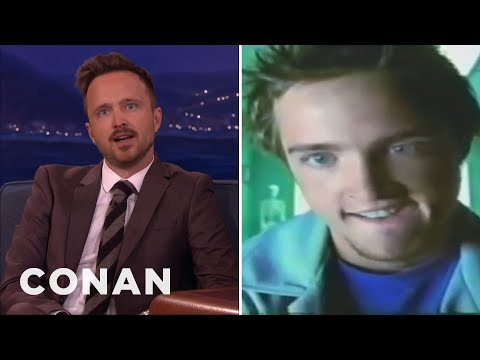 Aaron Paul's Oddly Sexual Juicy Fruit Ad   CONAN on TBS
