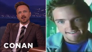 Video Aaron Paul's Oddly Sexual Juicy Fruit Ad  - CONAN on TBS download MP3, 3GP, MP4, WEBM, AVI, FLV Juli 2018