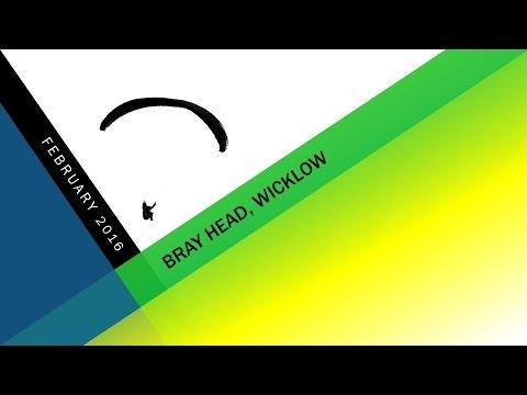 Paragliding - Bray Head Wicklow February