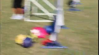 石垣島で女子サッカーの教室