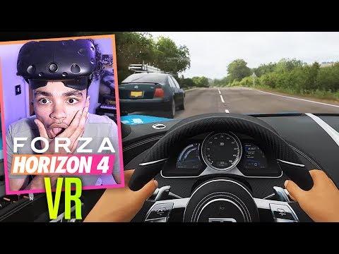 Forza Horizon 4 In VIRTUAL REALITY! (+ Wheel!) thumbnail