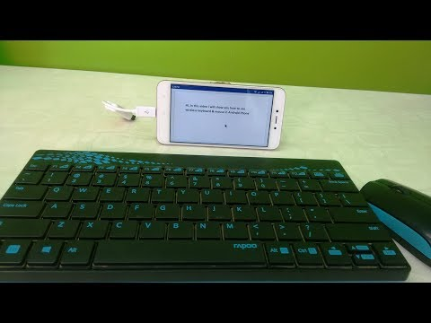How To Use Wireless Keyboard & Mouse In Android Phone & Tablet