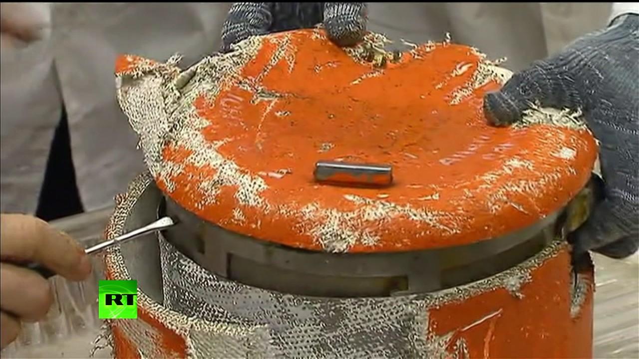 В ЦНИИ Минобороны в Люберцах был вскрыт основной чёрный ящик с разбившегося Ту-154