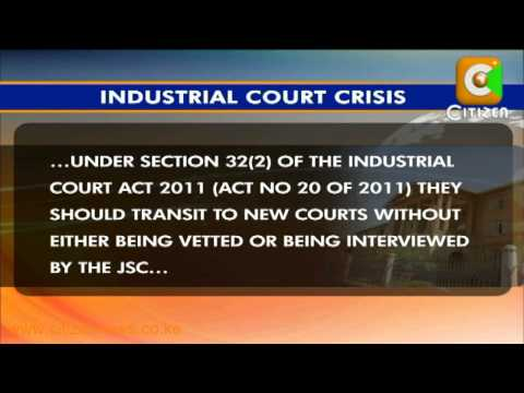 Crisis at The Industrial Courts