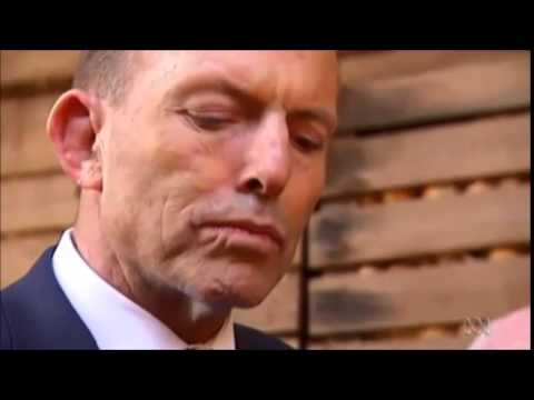 Prime Minister Tony Abbott explains why he ate a raw onion