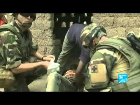 Avec les soldats français en République Centrafricaine - reportage France 24
