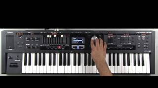 Roland VR-09 - How to Select Sounds in Piano Section