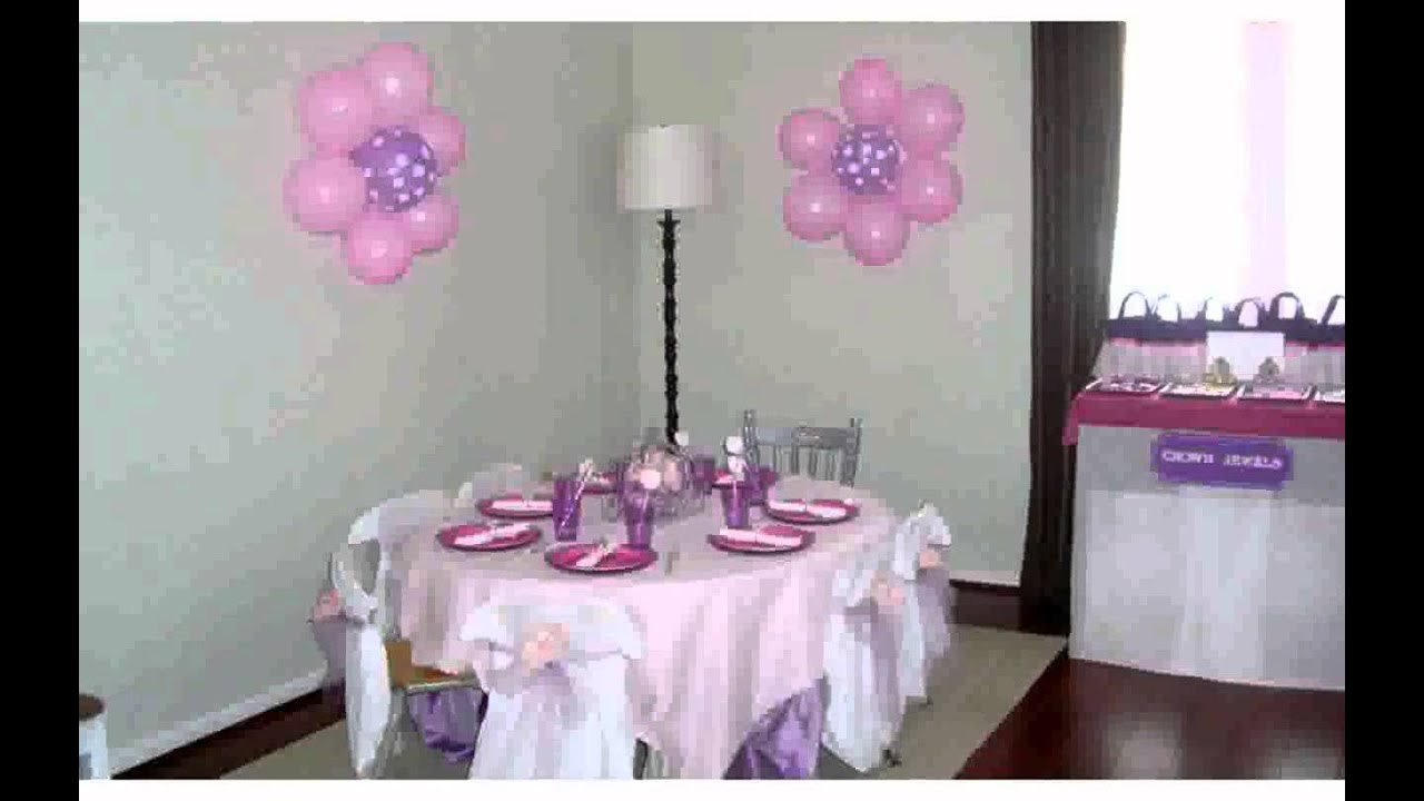 Wall Decorations for Birthday Party Decoration ilcebasa YouTube