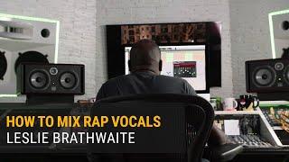 How to Mix Rap Vocals   Leslie Brathwaite (Pharrell Williams)