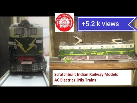 Scratchbuilt Indian Railway Models AC Electrics