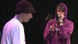 Phil Harmony vs Robeat - Semi Final - German Beatbox Battle 2011