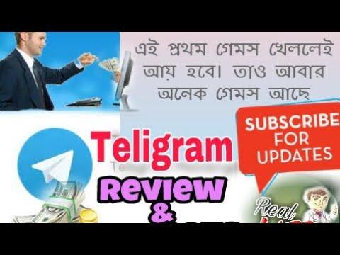 TeliGram ReviewPlay Games To Earn BitcoinMoneyReal Life