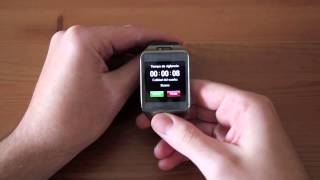 No.1 G2 clon chino del Samsung Gear 2 - Review en Español