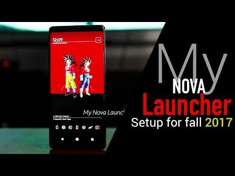 Samsung Galaxy Note 8   My Nova Launcher Setup - Part 2