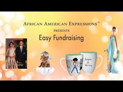 Black Fundraising With African American Expressions