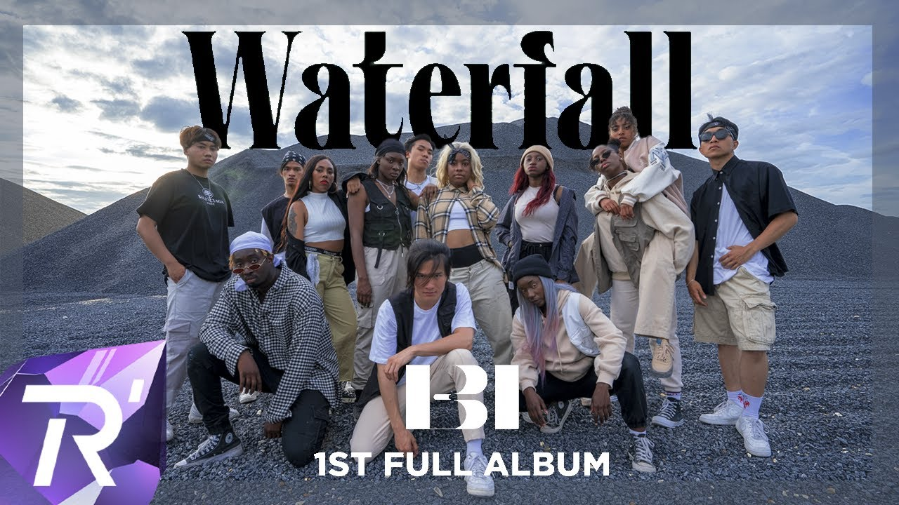 """B.I (비아이) - """"WATERFALL"""" Dance cover by RISIN' from France"""