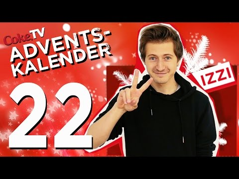 CokeTV Adventskalender: Türchen 22 mit izzi | #CokeTVMoment